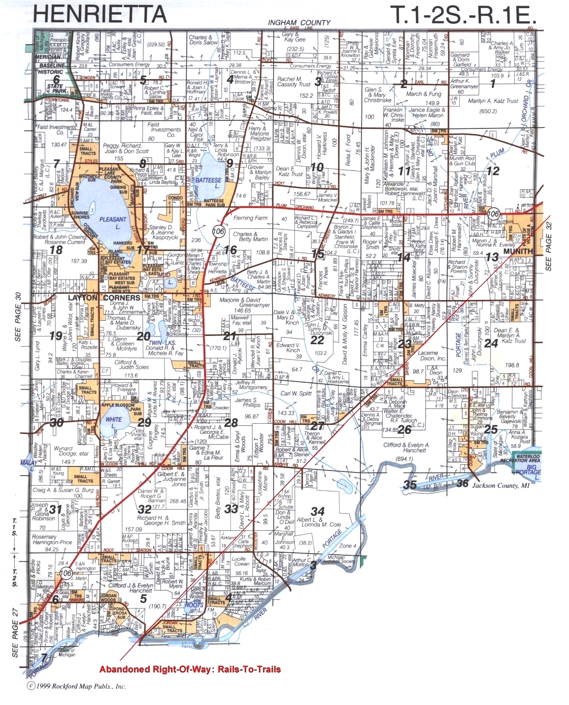 Michigan Township Map Related Keywords Amp Suggestions